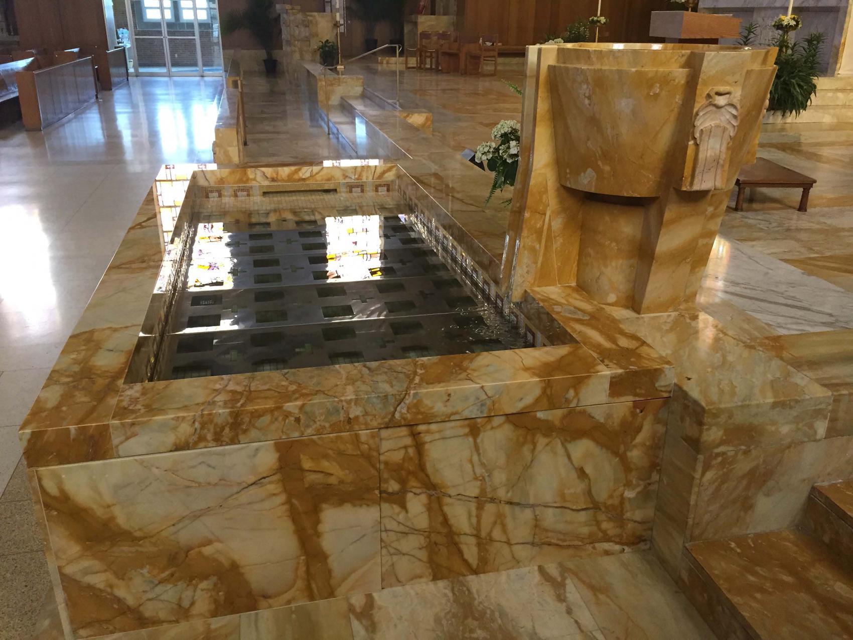 Gesu Baptismal 2